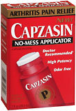 Capzasin Topical Analgesic Liquid No-Mess Applicator  -  1 OZ