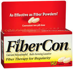 FiberCon Fiber Therapy for Regularity, Caplets  - 90ea