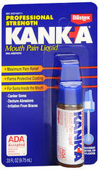 Kank-A Mouth Sore Medication Professional Strength - 0.33 Ounces