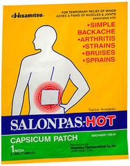 Salonpas Hot Capsium Patch 50 Each