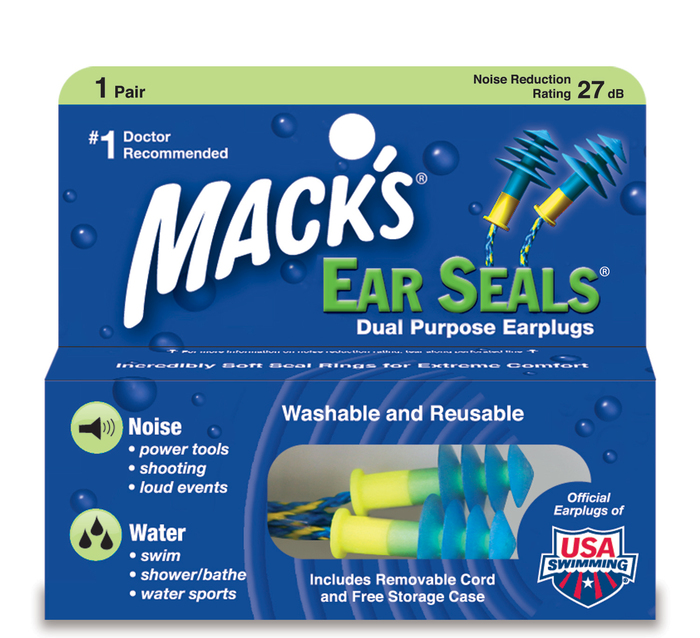 Mack's Ear Seals Earplugs - 1 Pair