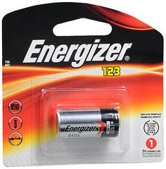 Energizer Lithium Battery 3.0 Volts 123 1-Pack - 1 EA