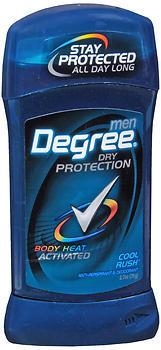 Degree Anti-Perspirant Deodorant Invisible Solid Cool Rush - 2.7 OZ