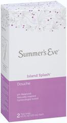 Summer's Eve Douche Twin Island Splash 2X4.5 Pack - 2 Each