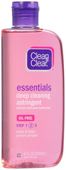 Clean & Clear Deep Cleaning Astringent, Oil Fighting (New Version) - 8oz