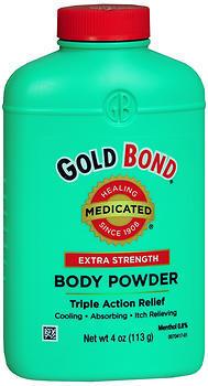 Gold Bond Body Powder Medicated Extra Strength - 4 Ounces