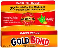 Gold Bond Cream Medicated Maximum Strength - 1 Ounces