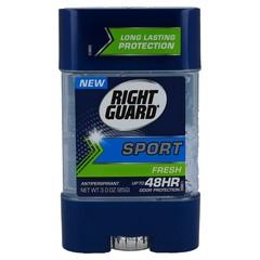 Right Guard Sport Anti-Perspirant Clear Gel Fersh - 3 Ounces