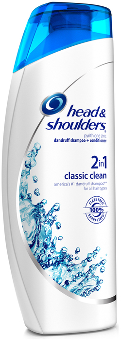 Head & Shoulders Dandruff Shampoo Classic Clean 2 In 1 - 14.2 OZ