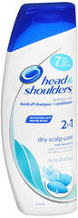 Head & Shoulders Dandruff Shampoo Dry Scalp 2 In 1  -  14.2 OZ