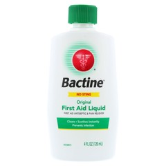 Bactine First Aid Squeeze Bottle - 4 Ounces