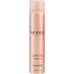 NEXXUS COMB THRU Design and Finishing Mist Aerosol Natural Hold - 10 OZ