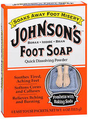 Johnson's Soap Powder Packets - 4 Count