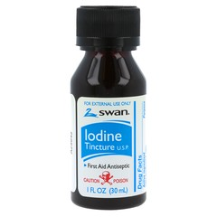 Swan Iodine First Aid Antiseptic - 1 OZ