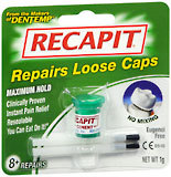 Recapit Cap and Crown Cement  -  1 GM