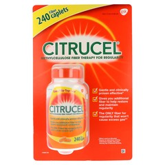 CITRUCEL METHYLCELLULOSE FIBER THERAPY FOR REGULARITY WITH SMARTFIBER - 240 FIBER CAPLETS
