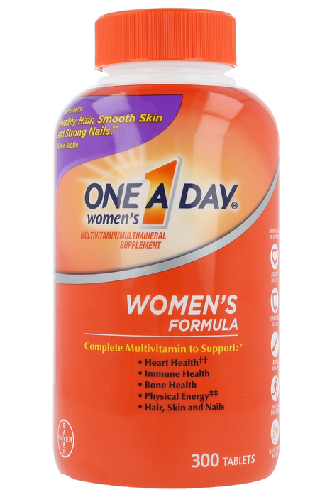 Women S One A Day Multi Vitamin Multi Mineral Supplement 300 Tablets Medshopexpress