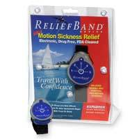 Relief Band Explorer Motion Sickness Device  - One size.
