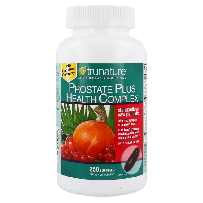 TruNature Prostate Health Complex Saw Palmetto - 250 Soft gels
