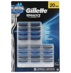 Gillette Mach3 Turbo - 20 Cartridges - Shaving blade refills