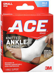 ACE Knitted Ankle Support Small