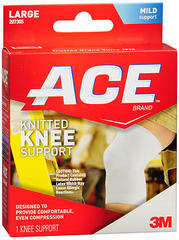 ACE Knitted Knee Support Large