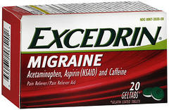 Excedrin Migraine Pain Reliever/Pain Reliever Aid Geltabs