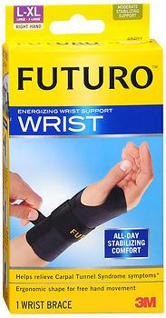 FUTURO Energizing Wrist Support Right Hand Large/ X-Large