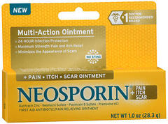 Neosporin + Pain, Itch, Scar Ointment
