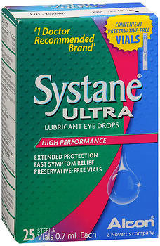 Systane Ultra Lubricant Eye Drops Vials