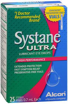 Systane Ultra Lubricant Eye Drops Vials