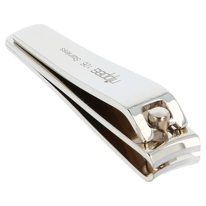Nippes Stainless Steel Nail clipper 126 – 6cm, with nail collector
