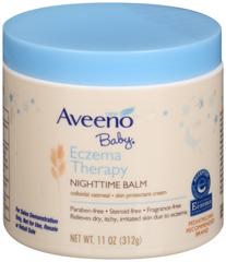 AVEENO Baby Eczema Therapy Nighttime Balm - 11 OUNCE