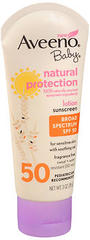 AVEENO Baby Natural Protection Lotion Sunscreen SPF 50 - 3 OUNCE