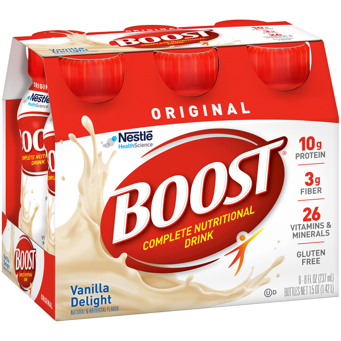 BOOST Original Complete Nutritional Drink Very Vanilla - 8 OUNCE