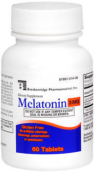 Breckenridge Melatonin 3 mg Tablets - 60 TAB