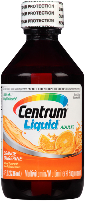 Centrum Multivitamin/Multimineral Liquid Citrus - 8 OUNCE