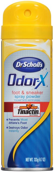 Dr. Scholl's Odor-X Foot & Sneaker Spray Powder - 4.7 OUNCE