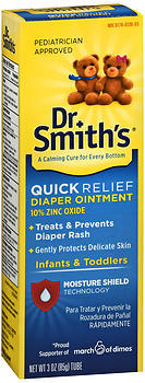 Dr. Smith's Quick Relief Diaper Ointment - 3 OUNCE