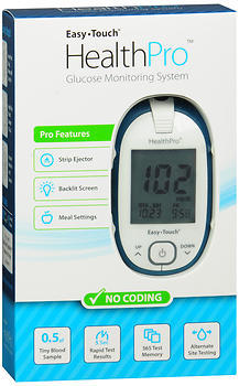 Easy Touch HealthPro Glucose Monitoring System - 1 EACH