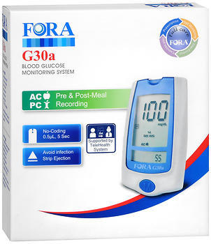 Fora Blood Glucose Monitoring System G30a - 1 EACH