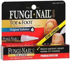 Fungi-Nail Toe & Foot Original Solution Pen Brush Applicator - 3 ML