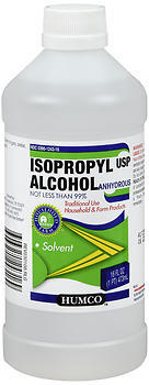 Humco Isopropyl Alcohol USP 99% - 16 OUNCE