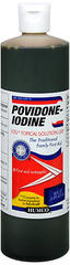 Humco Povidone-Iodine 10% Topical Solution USP - 16 OUNCE