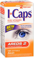ICAPS AREDS 2 Eye Vitamin & Mineral Softgels - 120 EACH