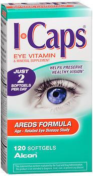 ICAPS AREDS Formula Softgels - 120 CAP