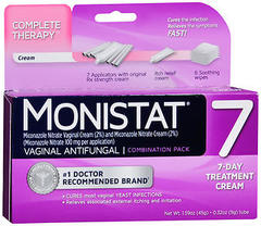 MONISTAT 7 Complete Therapy Vaginal Antifungal Combination Pack - 1 EACH