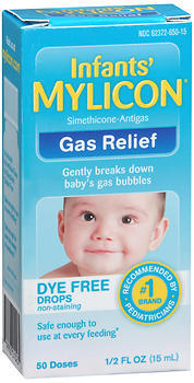 MYLICON Infants' Gas Relief Dye Free Drops - 0.5 OUNCE