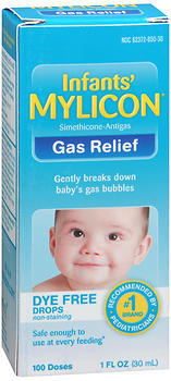 MYLICON Infants' Gas Relief Dye Free Drops - 1 OUNCE