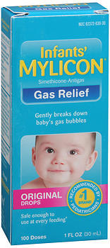 MYLICON Infants' Gas Relief Original Drops - 1 OUNCE